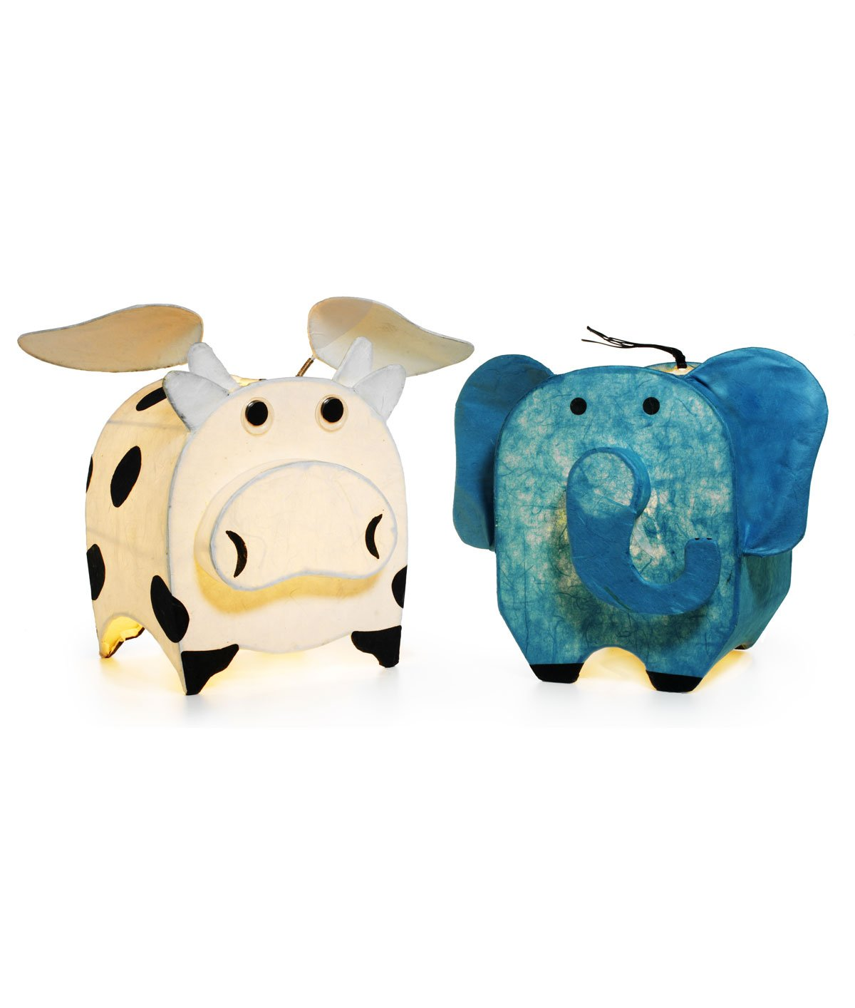 Cow-And-Elephant-Animal-Lamps-ww