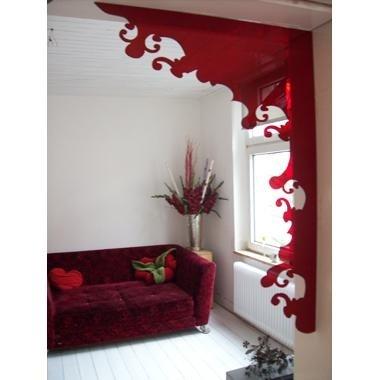 Eigengold-Indoorframe-Blume