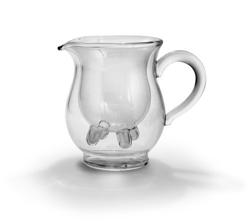 Calf and Half Double-Walled Creamer Pitcher