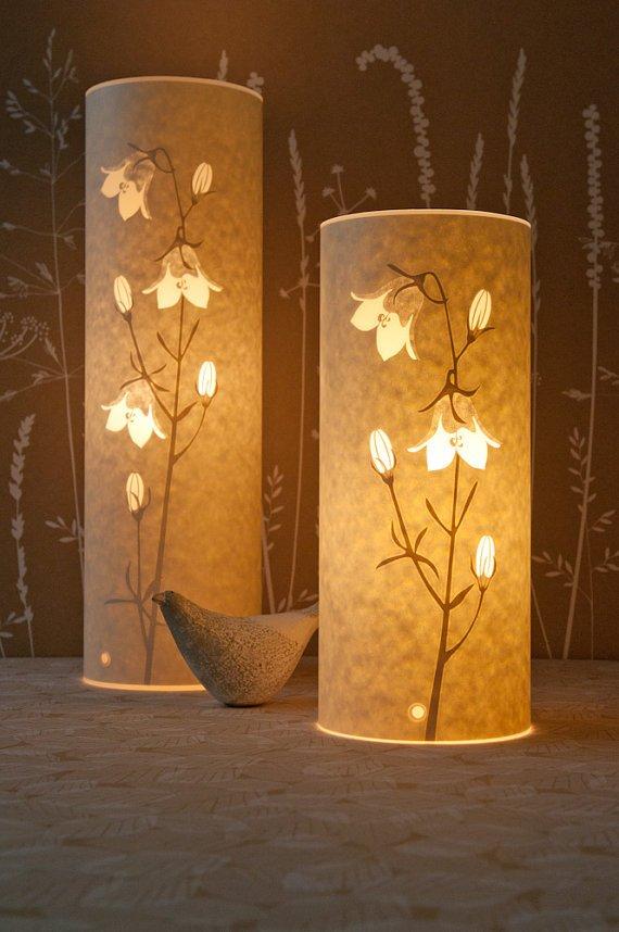 Tall Harebell Lamp