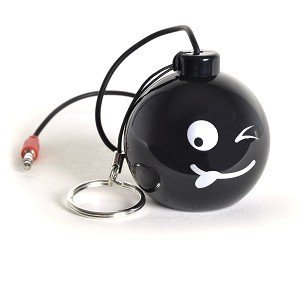 Hype Bomb Rechargeable Mini Portable Keychain Speaker