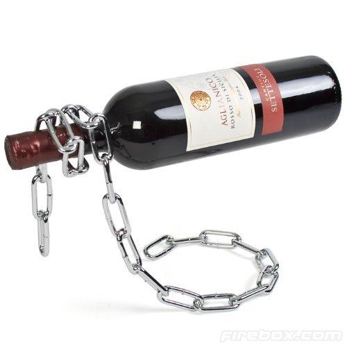 Lilys Home Chain Wine Bottle Holder