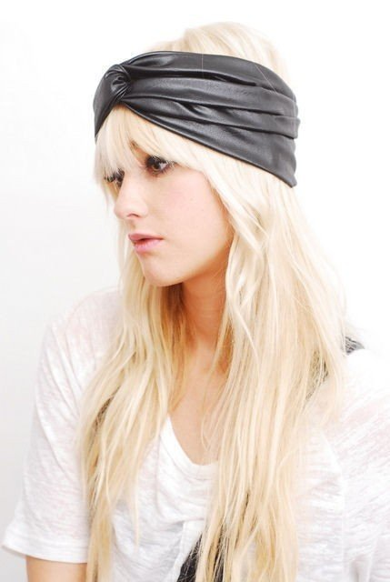 Black-Faux-Leather-Turban-ww